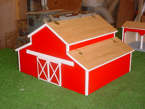 ... Horse Building Plans likewise Toy Barn Woodworking Plans besides Easy
