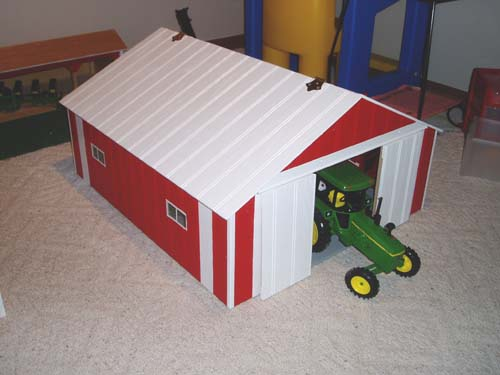 12x12 shed plans free plans for toy machine shed shed for Machine shed plans free